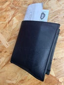 Image of Spirit of '58 Leather Wallet in Black