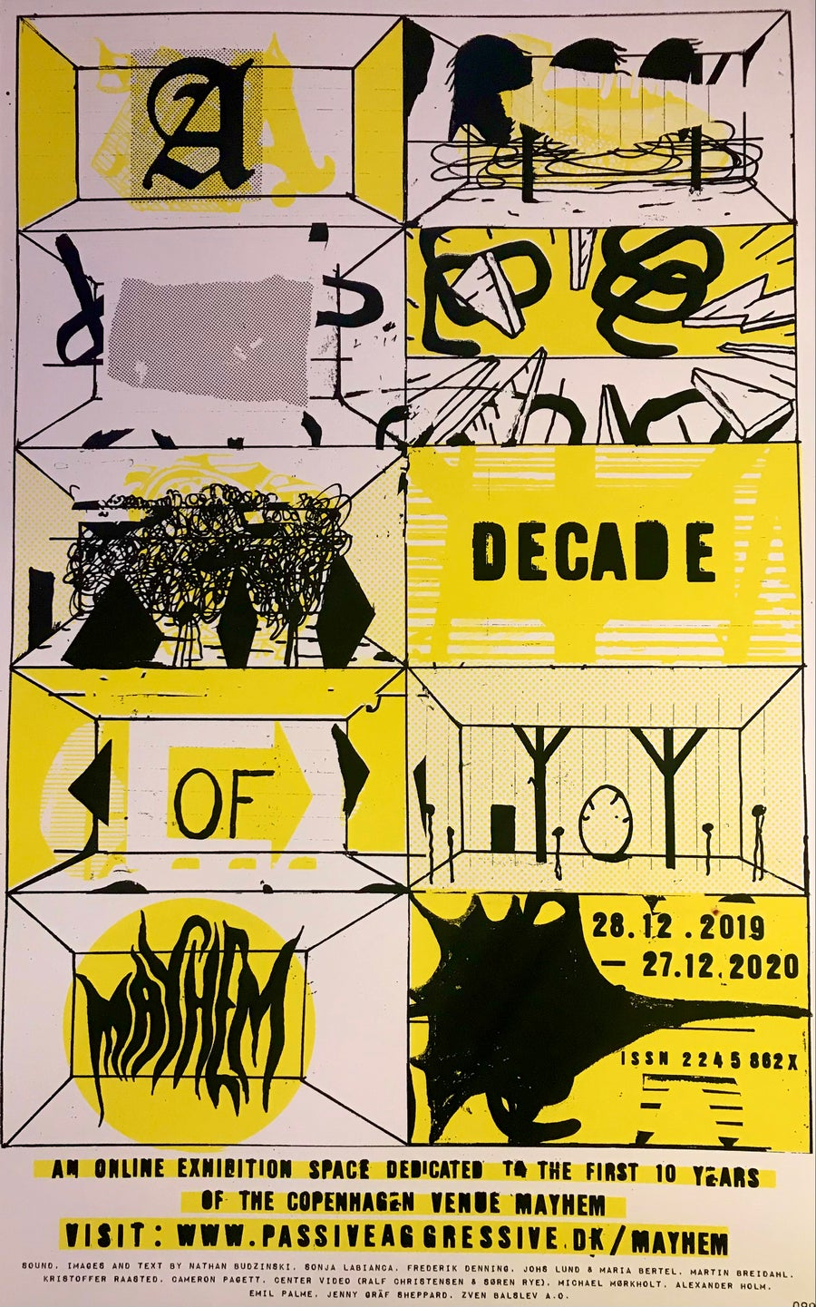 Image of A decade of Mayhem - POSTER