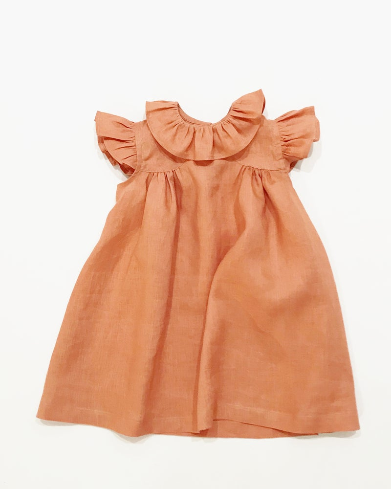 Image of cleo dress- clay