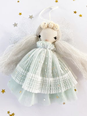 Image of 'ORNAMENT #5' - 2020 Christmas Angel Ornament Collection - Limited Edition