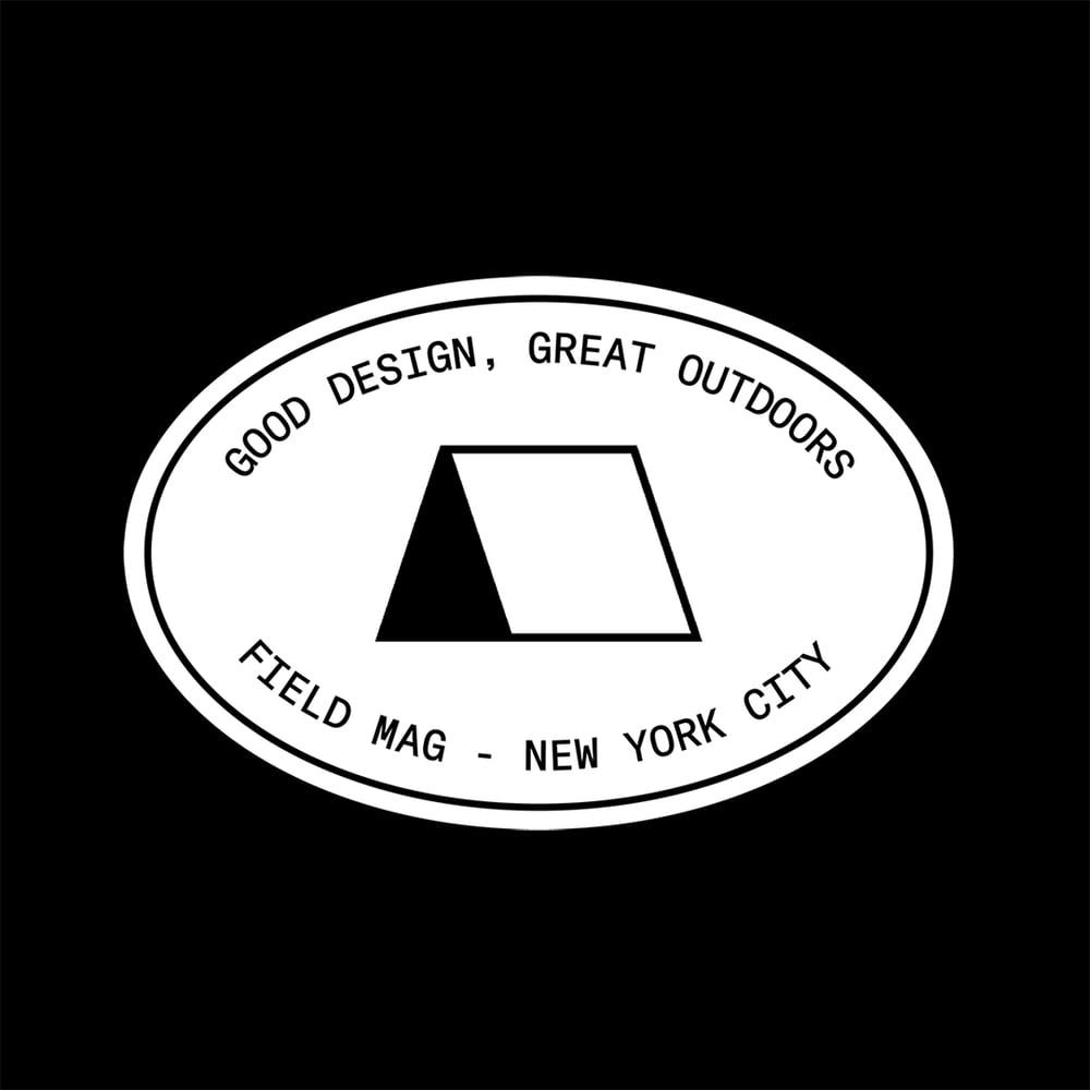 Image of Field Mag Tourist Sticker