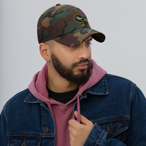 Image of Big Catch Camo Dad Hat
