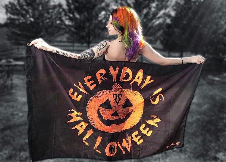 Image of Everyday Is Halloween Flag