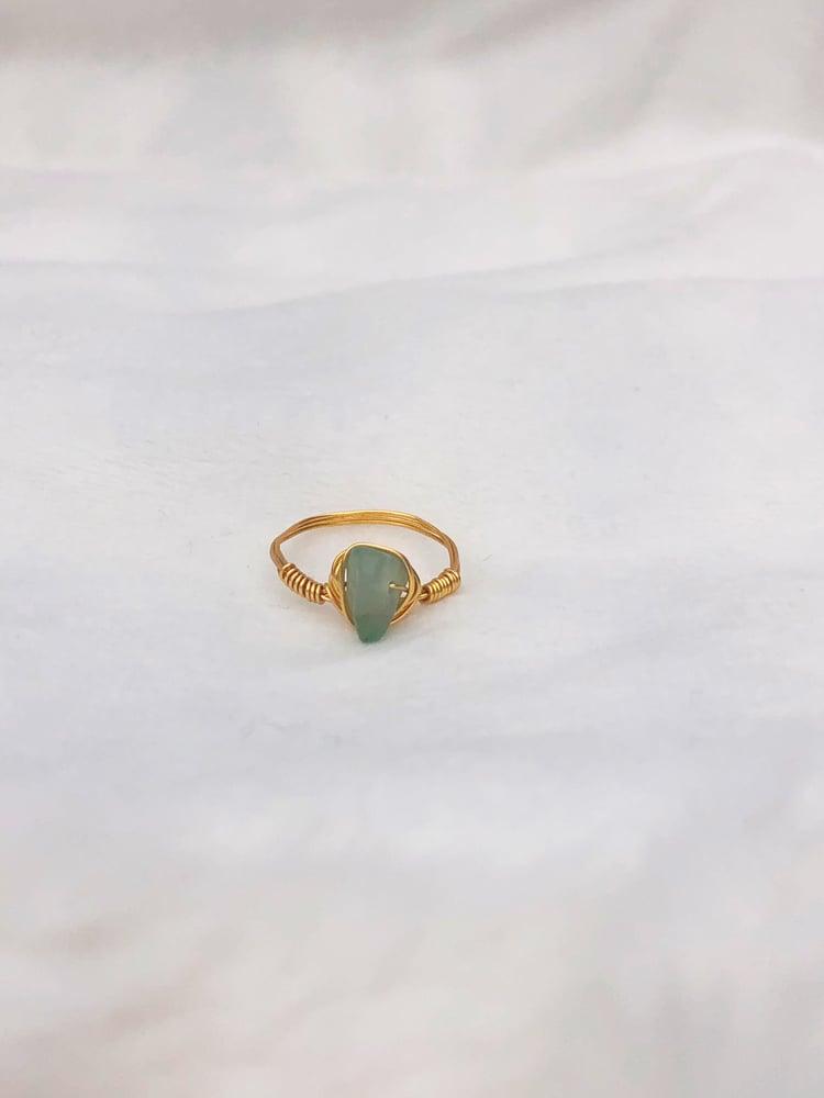 Image of Green Adventurine Ring
