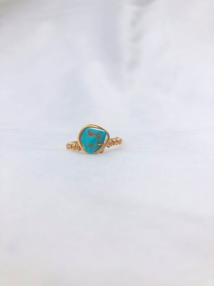 Image of Turquoise Blue Ring