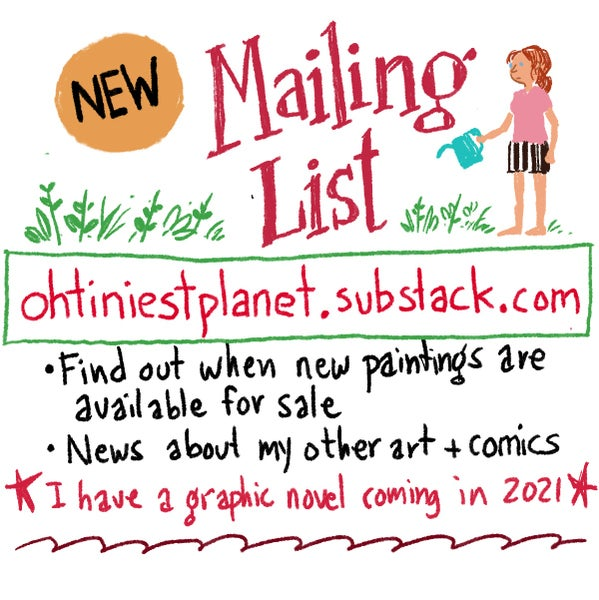 Image of New! Mailing List!