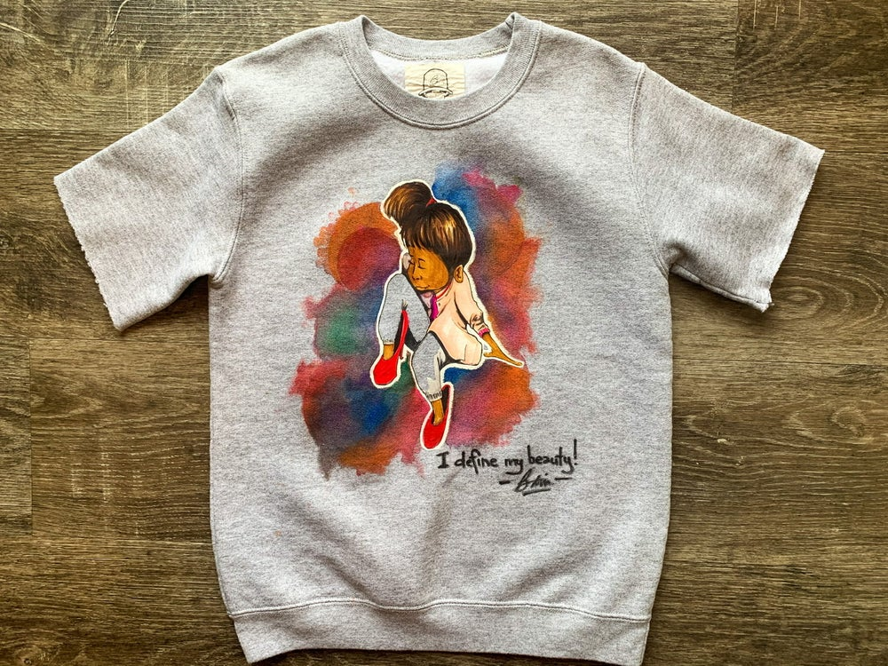 Image of Gobbi Kids | Beauty : Hand crafted, Toddler Kids Youth Crewneck Short Sleeve Sweatshirt (long sleeve