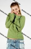 Angora Turtleneck Knit