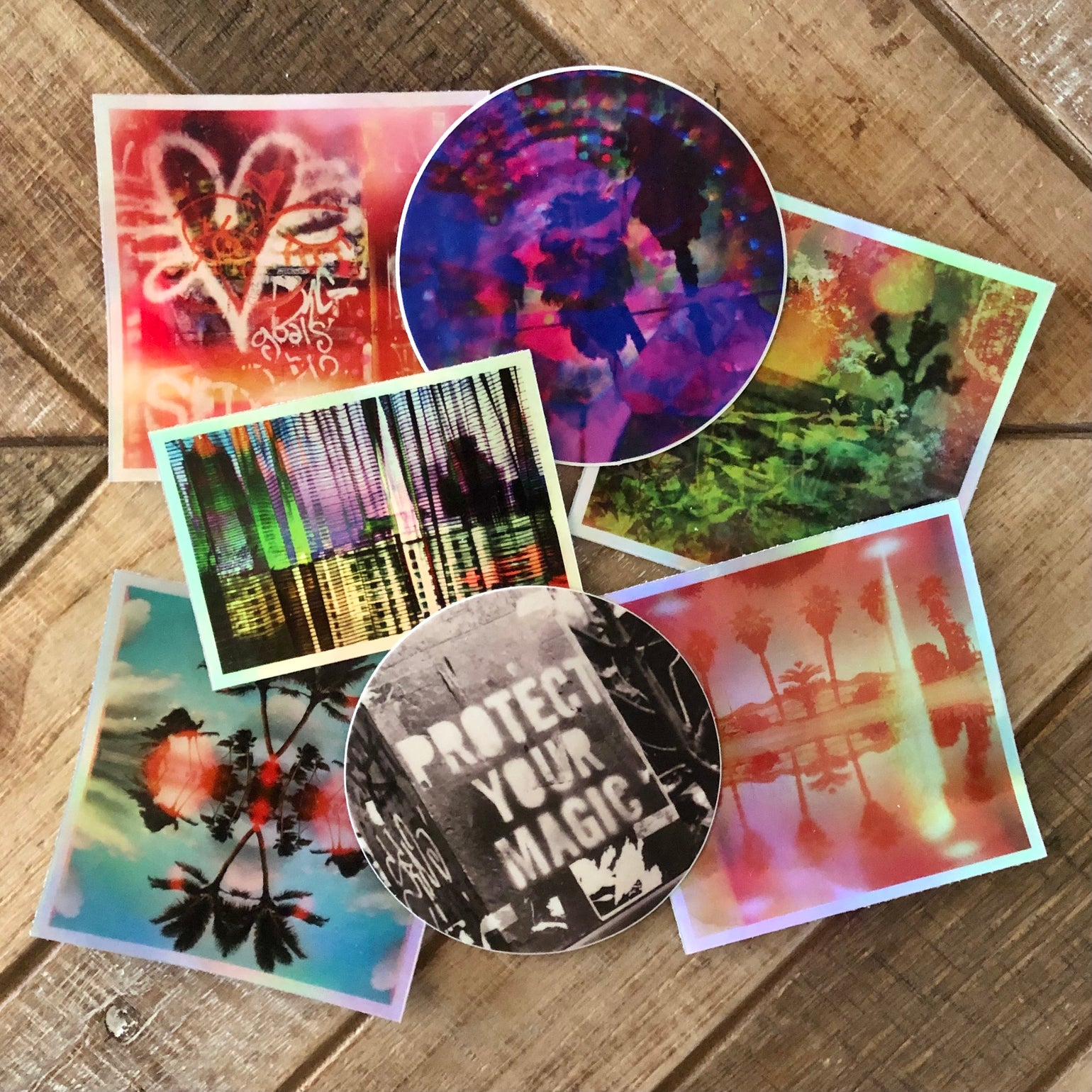 Image of Pack of 7 - All Stickers
