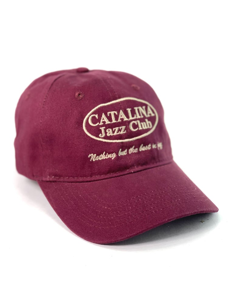 Image of Catalina Jazz Club - Hat (Burgundy)