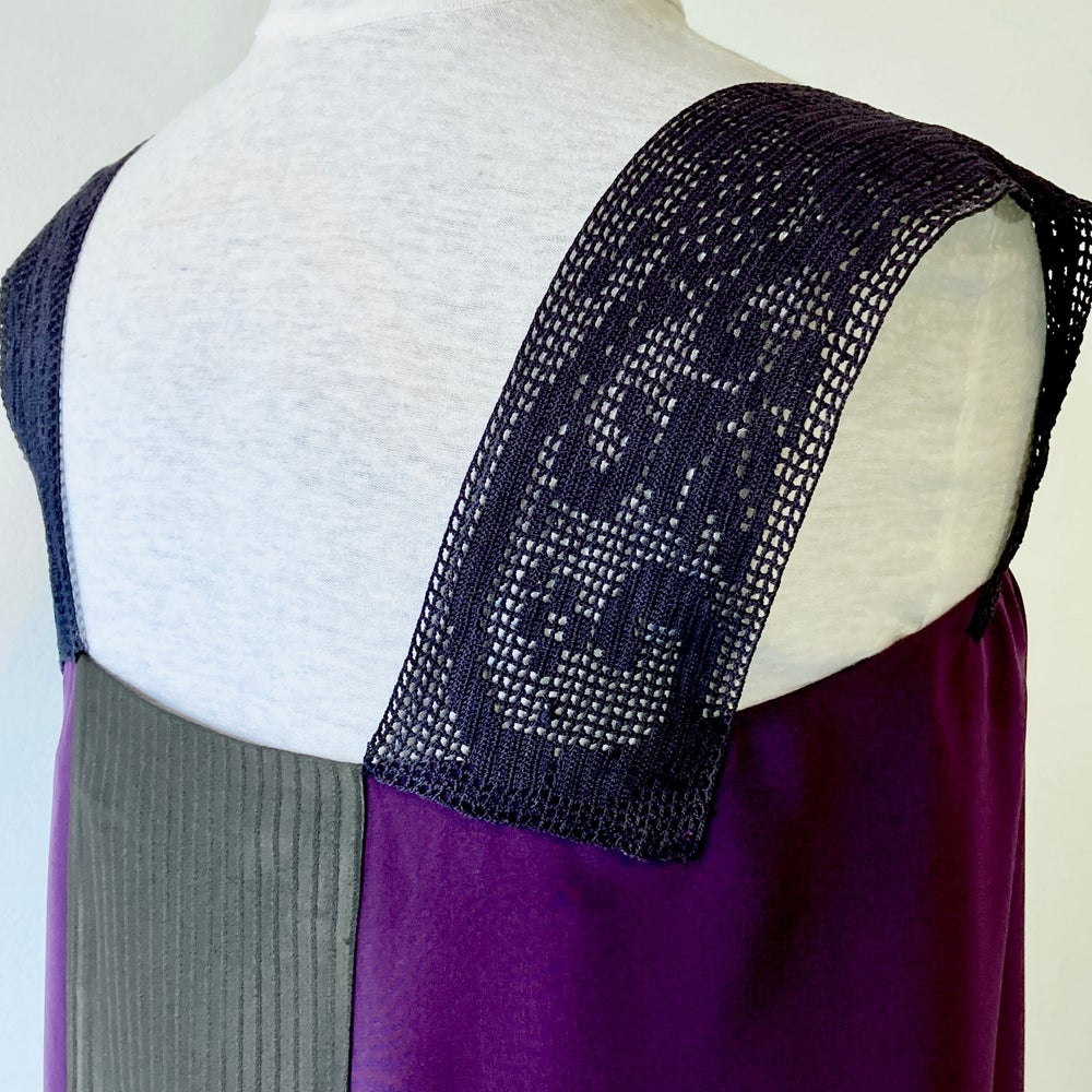 Image of Plumb at Midnight Nixie Blouse