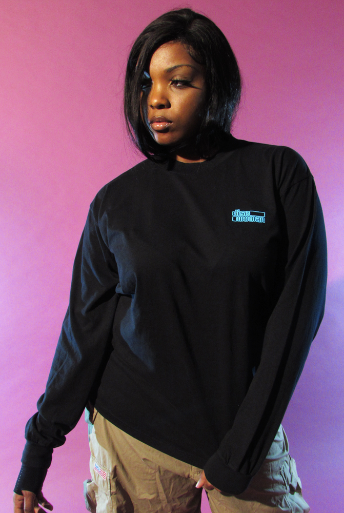 Image of EMBROIDERED OUTLINE LONG SLEEVE