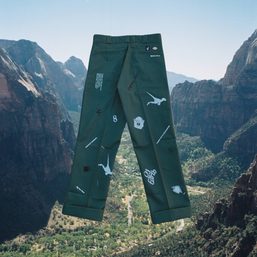 Image of Custom Park City Rangers Work Pant (Forest Green)