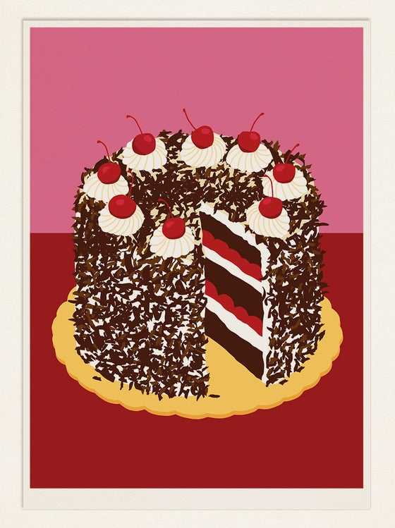 Image of Cake Poster: Black Forest Cake (Germany)