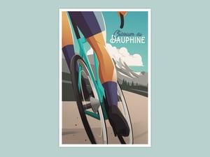 Cycling Print - Critérium du Dauphiné