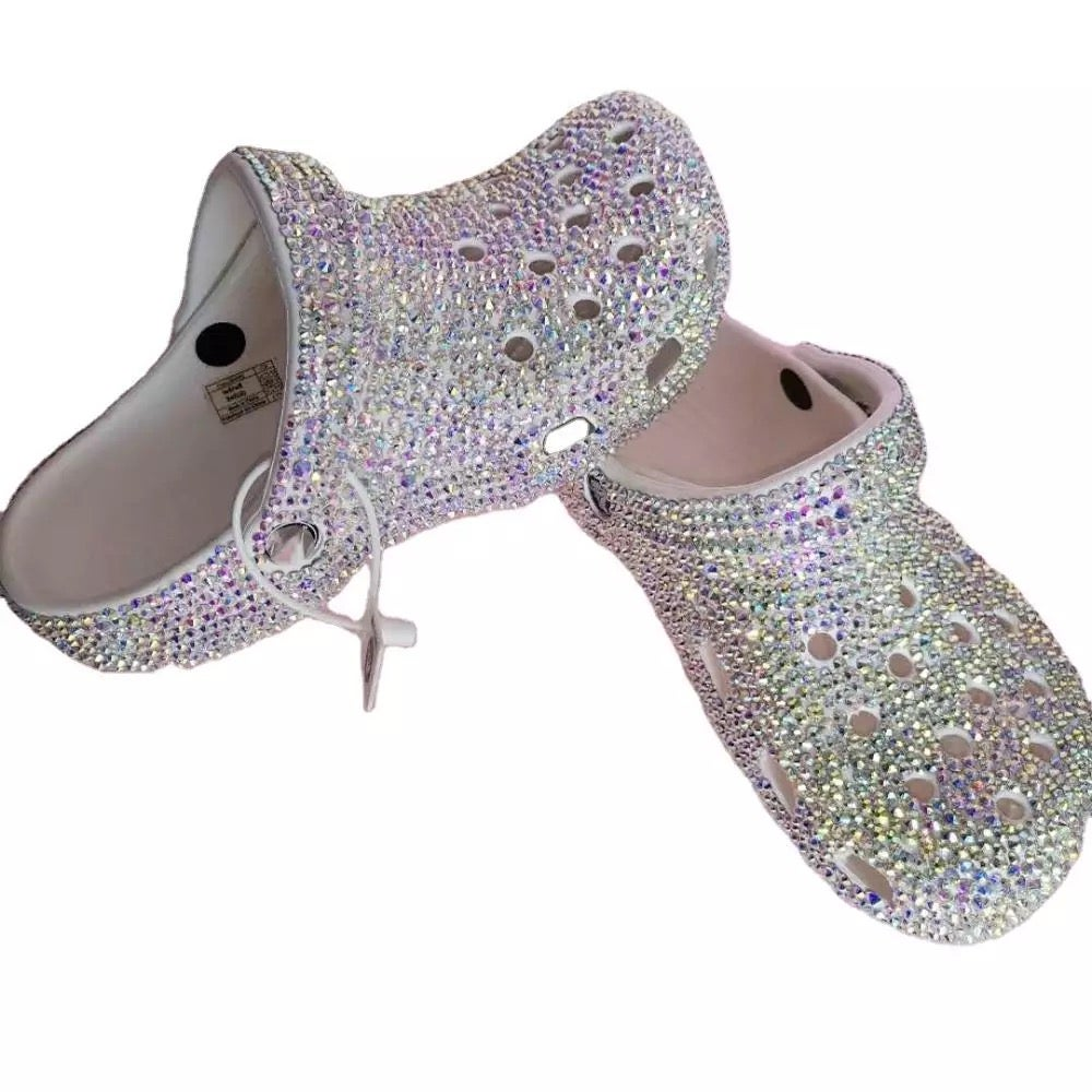 "Image of ""Bling Bling"" Full Rhinestoned Crocs"