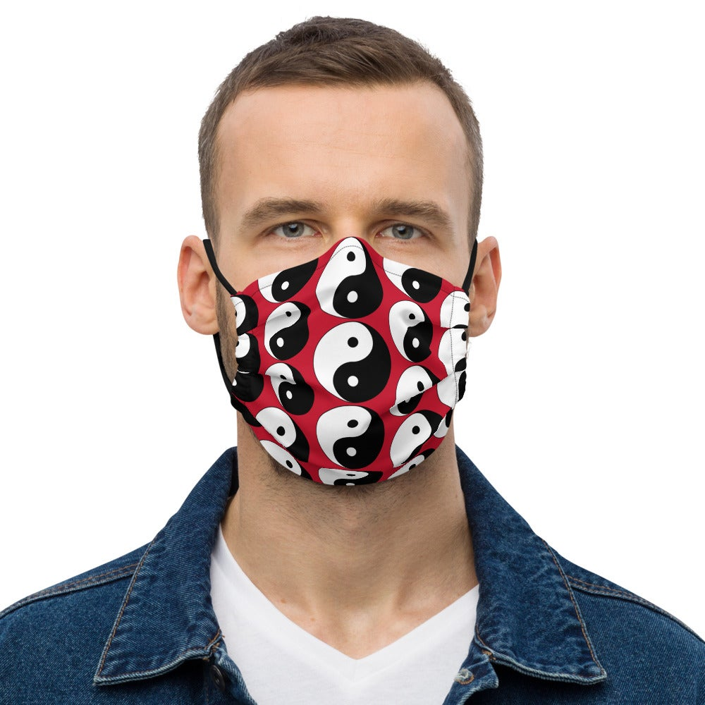 Image of Yin Yang Premium Face Mask