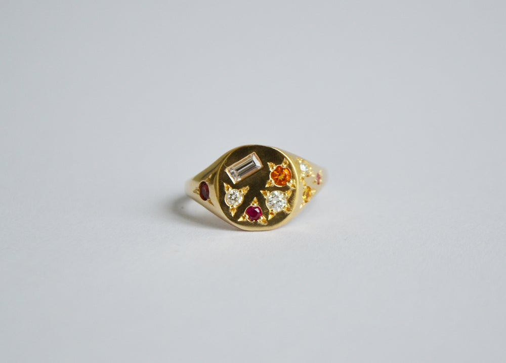 Image of Orange Treasure ring