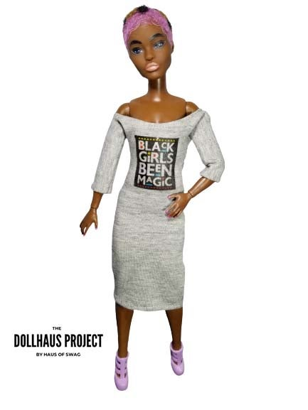 Image of Black Girls Been Magic Collector Doll