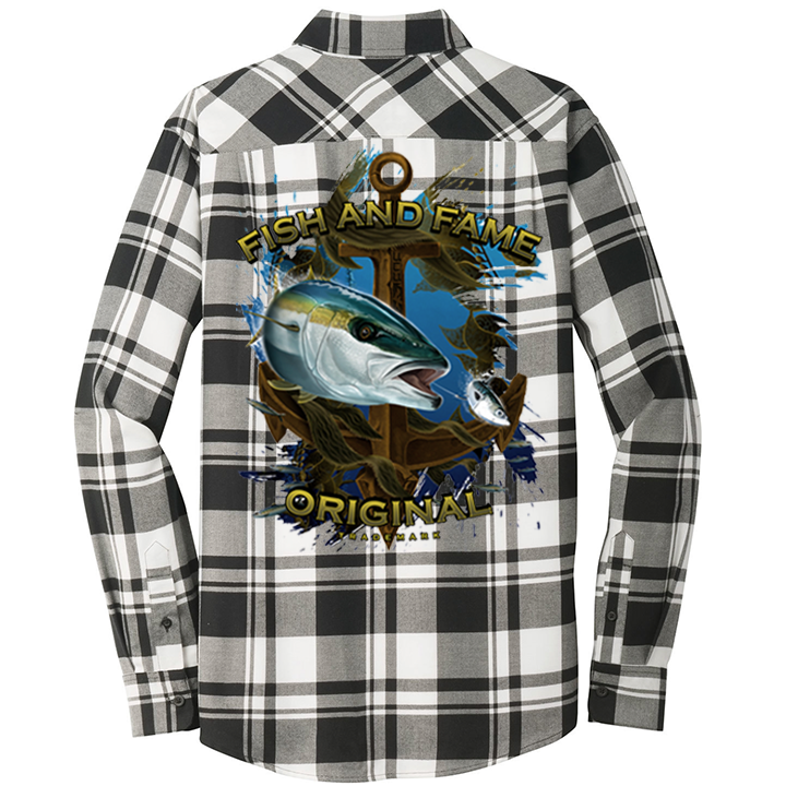 Image of Yellowtail & Anchor Flannel