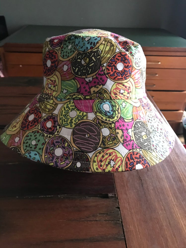 Image of KylieJane bucket hat- donuts