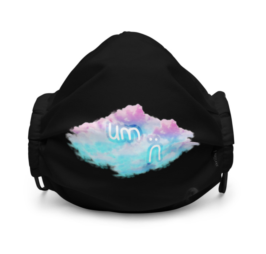 Image of skrillex 6 facemask [small cloud]
