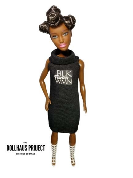 Image of Fearless BLK WMN Collector Doll