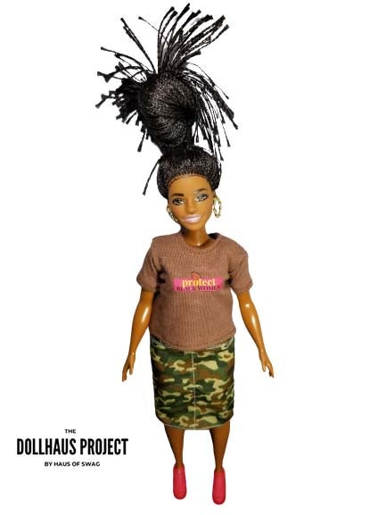 Image of Protect Black Women Collector Doll