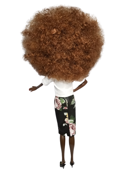 Image of Chanel Afro Collector Doll