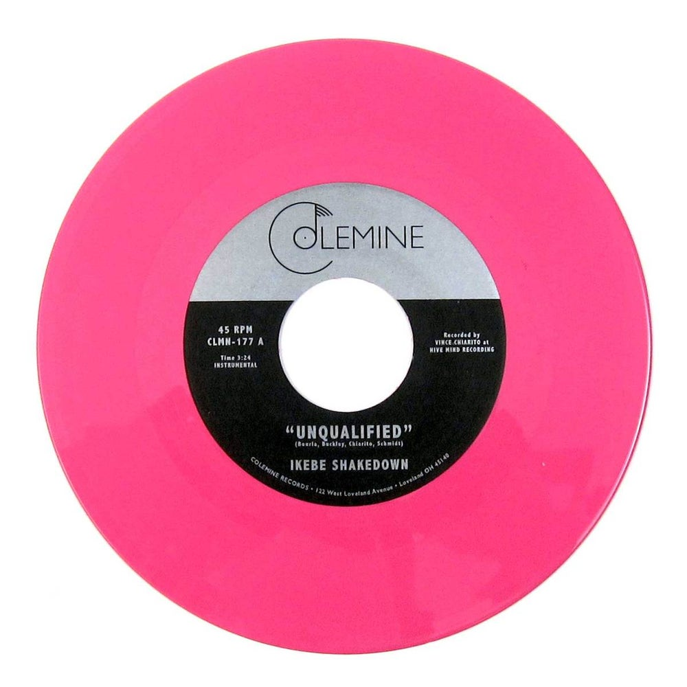 """Ikebe Shakedown - Unqualified b/w Horses (limited pink 7"""")"""