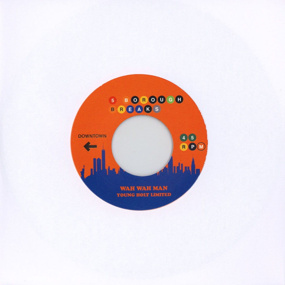 "Original Flavour - Can I Get Open b/w Young Holt Limited - Wah Wah Man (7"")"