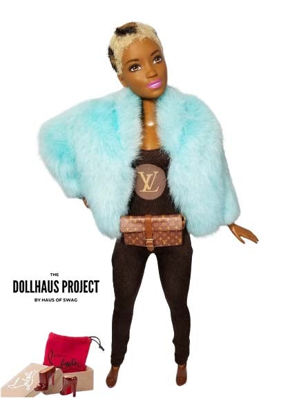 Image of LV Catsuit Fashion Collector Doll