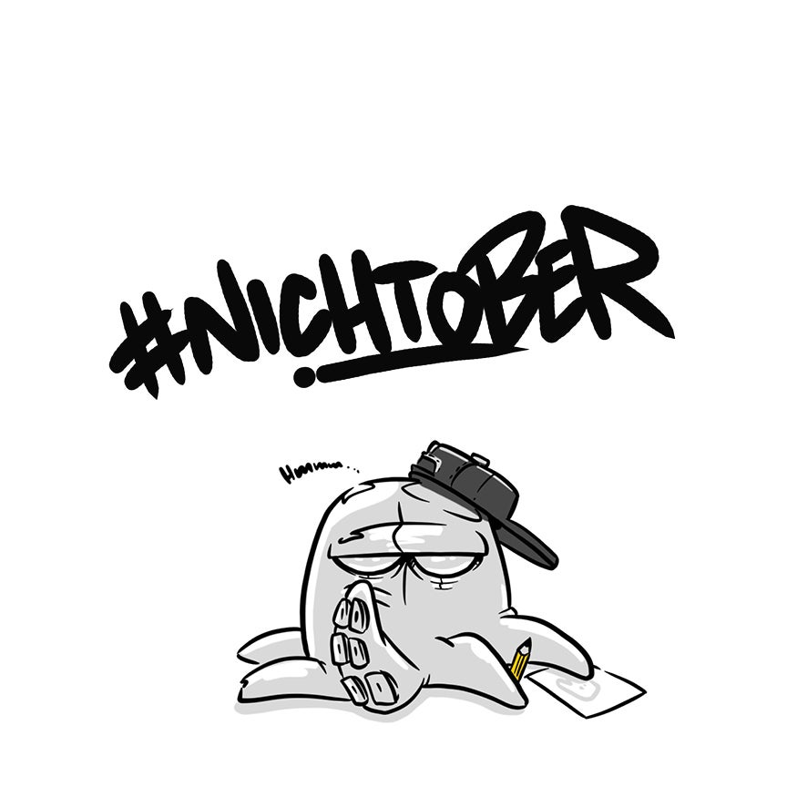 Image of #nichtober comic booklet