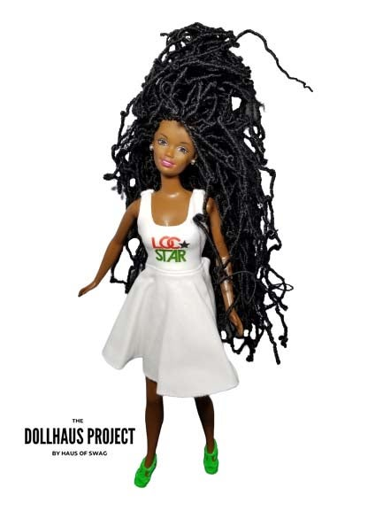 Image of Loc Star Skater Dress Collector Doll