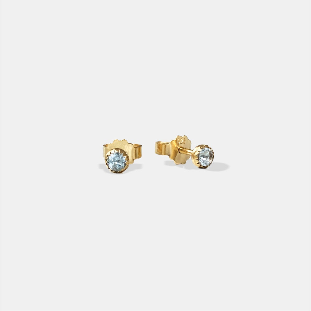 Image of Sky Earring / 24K GOLD-COATED SILVER