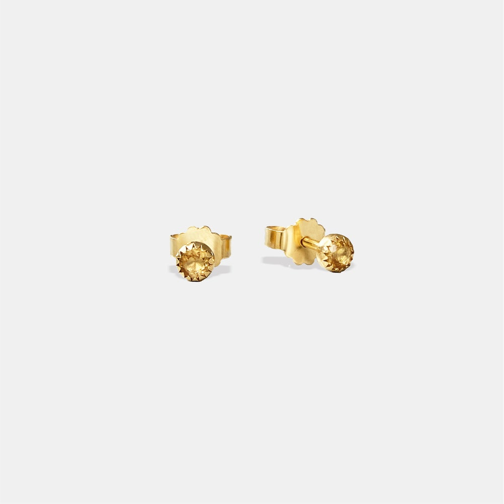 Image of India Earring / 24K GOLD-COATED SILVER