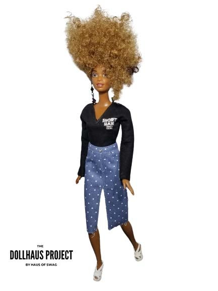 Image of Short Hair Don't Care Collector Doll