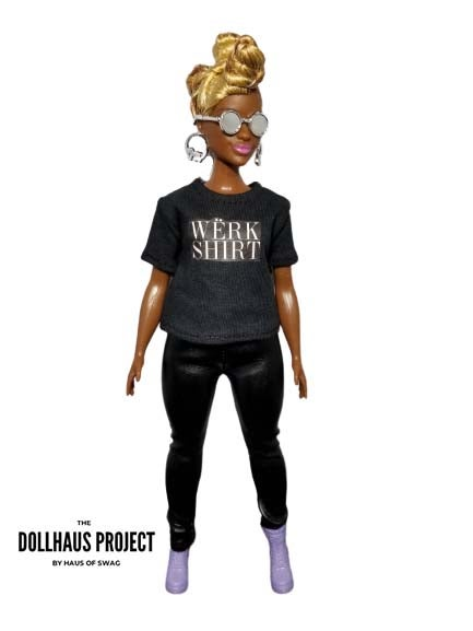 Image of WERK SHIRT 2.0 Collector Doll