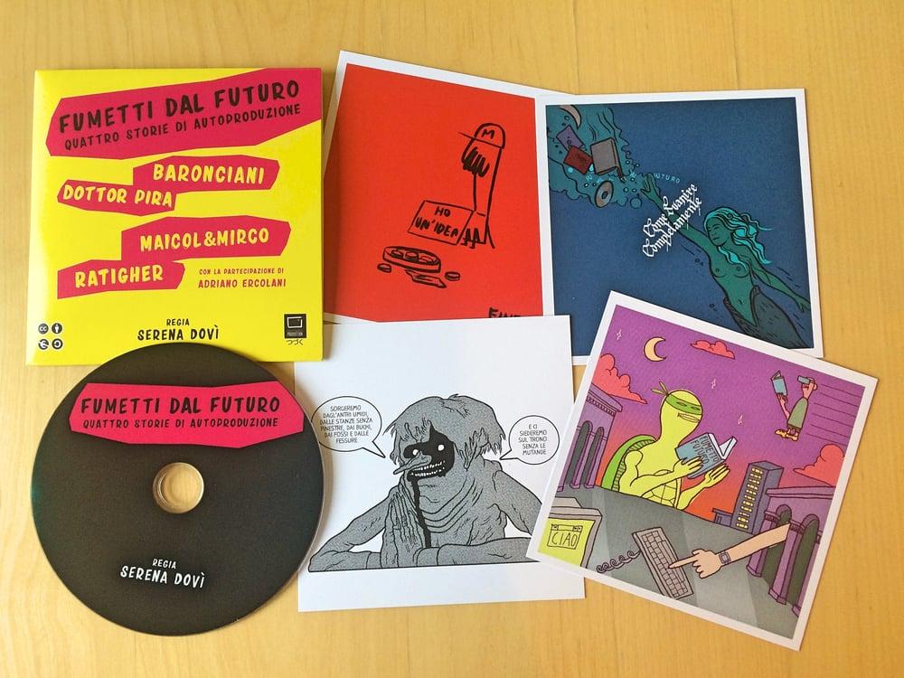 Image of Fumetti dal futuro DVD by Serena Dovì
