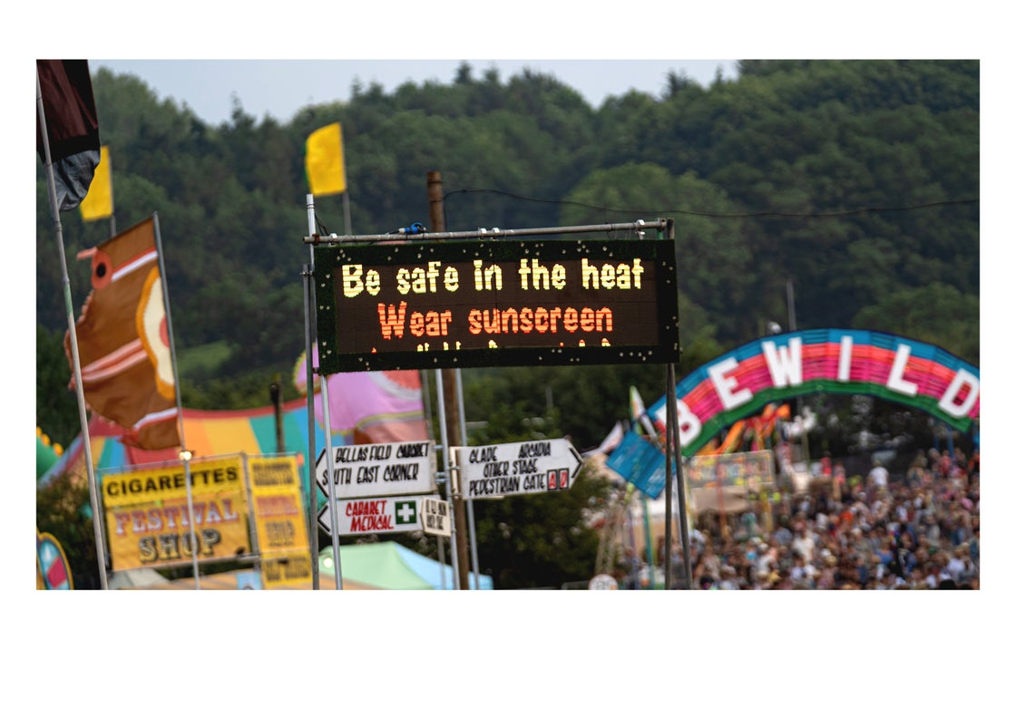 Image of Glastonbury Wear Sunscreen