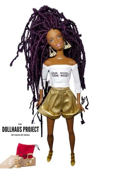 Image of She Won Collector Doll