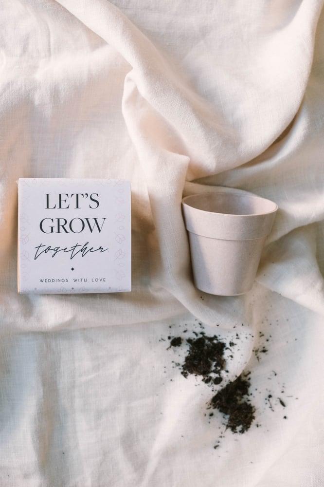 "Image of Maceta ""Let ́s grow together"""
