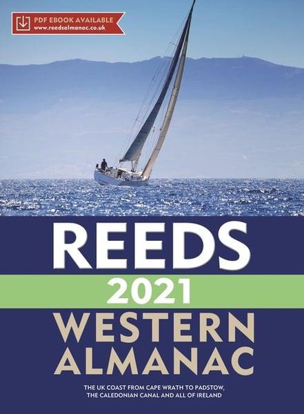 Image of REEDS Western Nautical Almanac 2021  (£10 off RRP!)