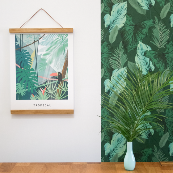 Image of ILLUSTRATION LIMITEE - Tropical ou Home