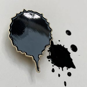 Ink Blot Brooch