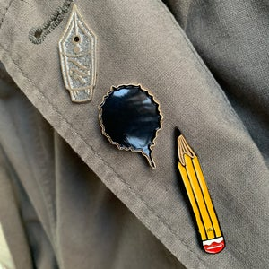 Heroic Pencil Brooch
