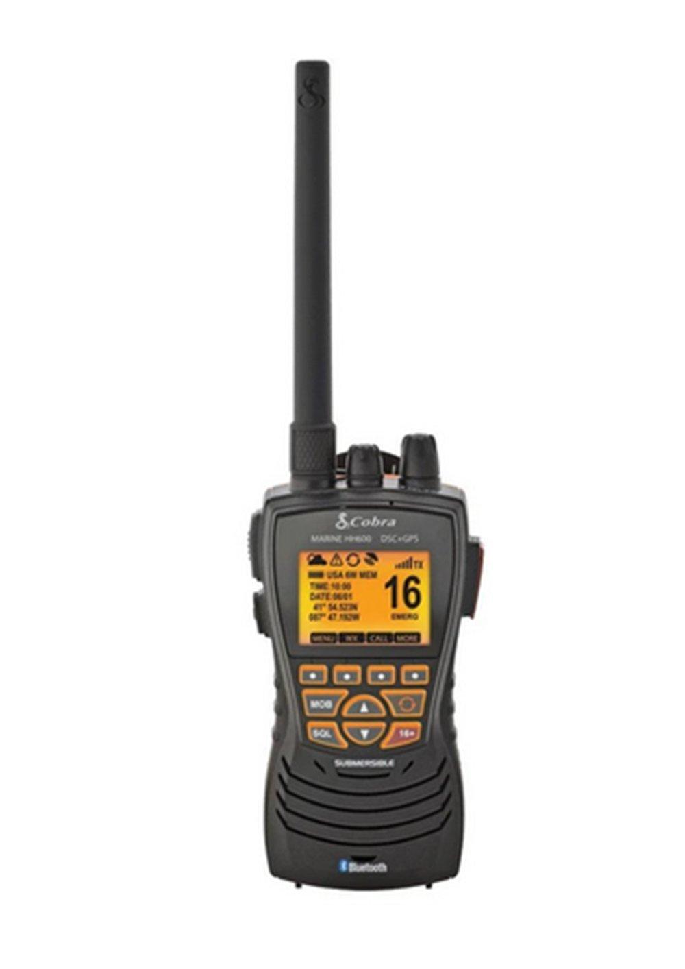 COBRA HH600E Handheld VHF/DSC Radio with GPS.   (10% Discount off RRP)