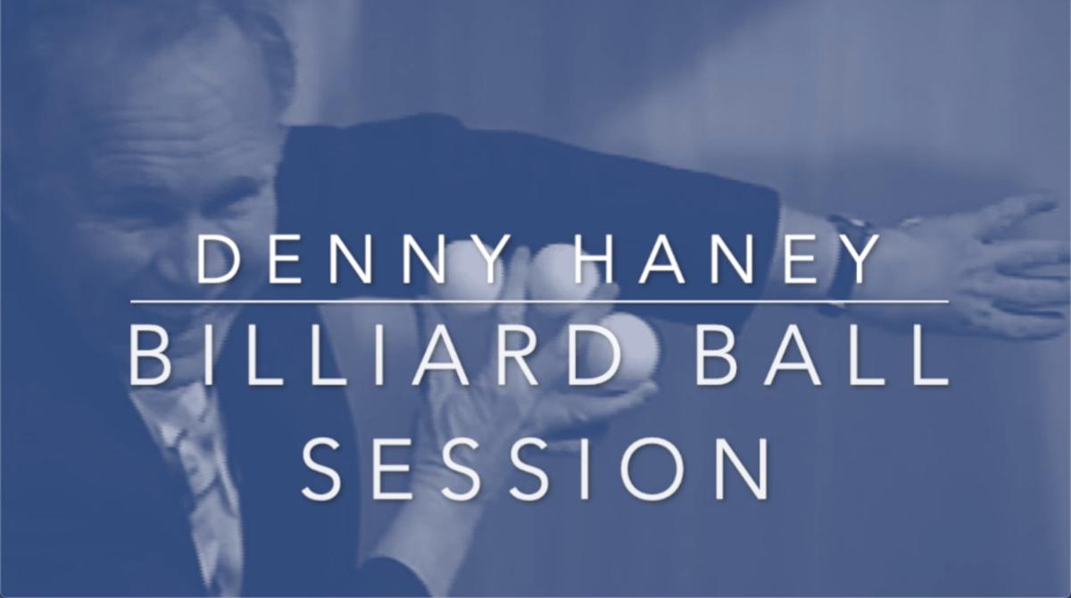 Image of Denny Haney Billiard Ball - Training Session