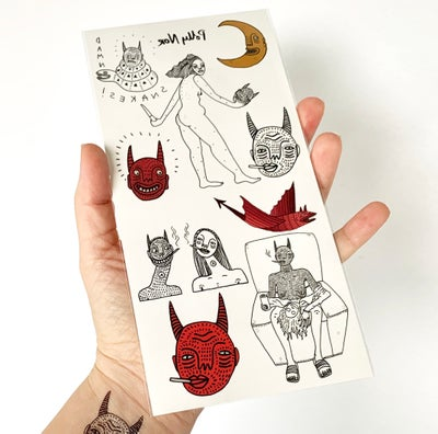 Image of Temporary Tattoo Pack