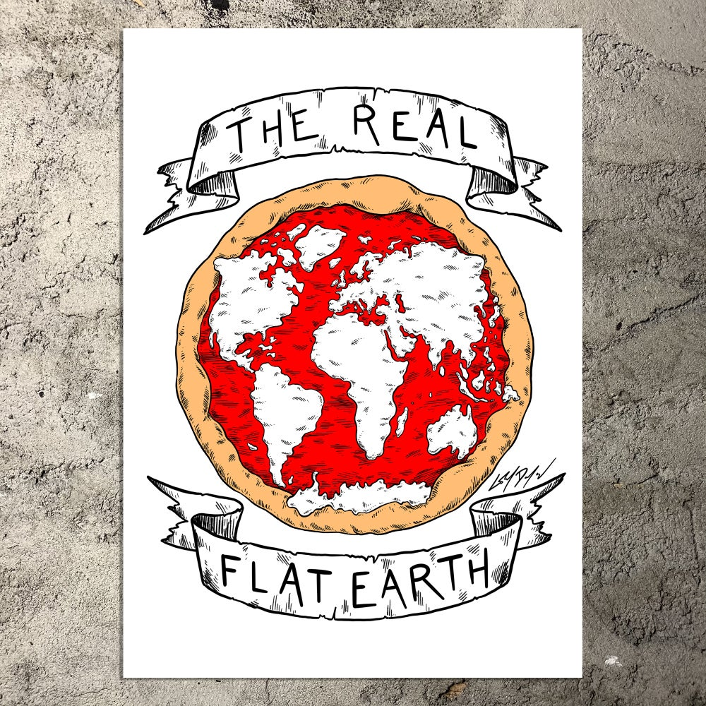 The Real Flat Earth